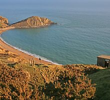 Worbarrow Bay and Tout by RedHillDigital