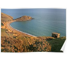 Worbarrow Bay and Tout Poster