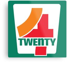 4-Twenty 7-Eleven Metal Print
