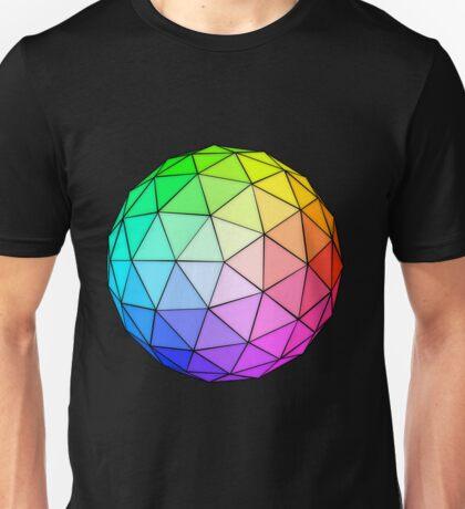 Geodesic Spheres Unisex T-Shirt