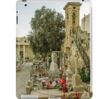 Cemetery in Malta iPad Case/Skin