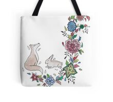 Unlikely couple Tote Bag