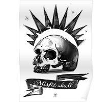 misfit skull Poster