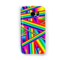Bright Psychedelic Rainbow  Samsung Galaxy Case/Skin