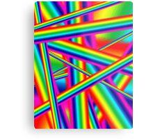 Bright Psychedelic Rainbow  Metal Print