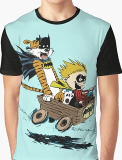 Calvin Hobbes Explore Graphic T-Shirt