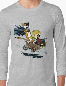 Calvin Hobbes Explore Long Sleeve T-Shirt