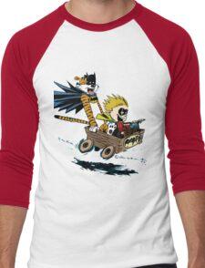 Calvin Hobbes Explore Men's Baseball ¾ T-Shirt