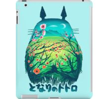 Totoro Neighbor Landscape iPad Case/Skin