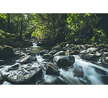The River Flows Photographic Print
