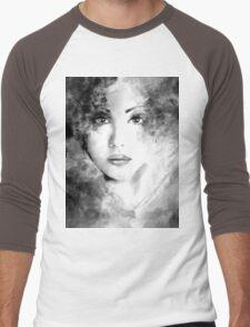 Beautiful woman face. Abstract fashion illustration T-Shirt