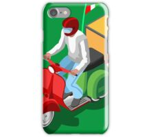 Pizza Scooter Express iPhone Case/Skin