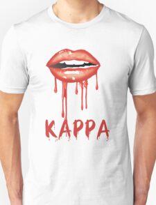 Kappa Red Dripping Lips Unisex T-Shirt