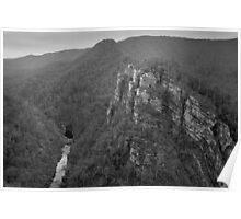 Alum Cliffs, Tasmania Poster