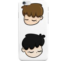 dan & phil - white iPhone Case/Skin