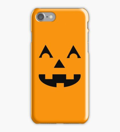 Jack O Lantern Face iPhone Case/Skin