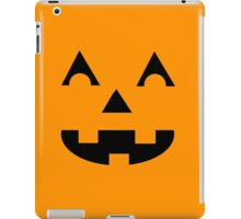 Jack O Lantern Face iPad Case/Skin