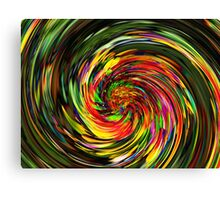 Psychedelic Wave Canvas Print