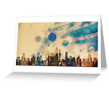 Cityscape medley  Greeting Card