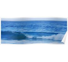 Noosa Blue Poster