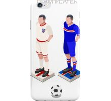 Football Team Player iPhone Case/Skin