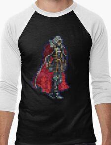 Alucard Vintage Pixels Men's Baseball ¾ T-Shirt