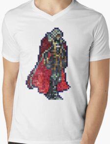 Alucard Vintage Pixels Mens V-Neck T-Shirt