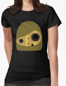 Laputa- Robot Head Vector Womens Fitted T-Shirt