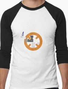 Happy little BB8 Men's Baseball ¾ T-Shirt