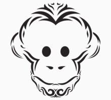 Tribal Monkey Kids Tee