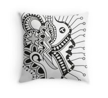 Free Hand Throw Pillow