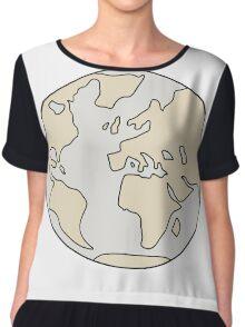 World Chiffon Top