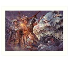 Meeting the Elder Dragon Art Print