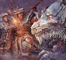 Meeting the Elder Dragon by CarloReynolds