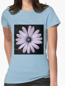 Daisy Mauve Womens Fitted T-Shirt