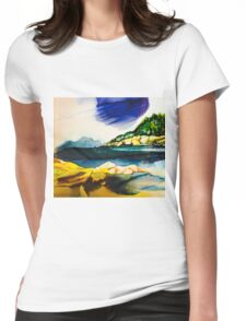 alma crop Womens Fitted T-Shirt