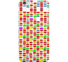 Colourful Flowchart Design iPhone Case/Skin