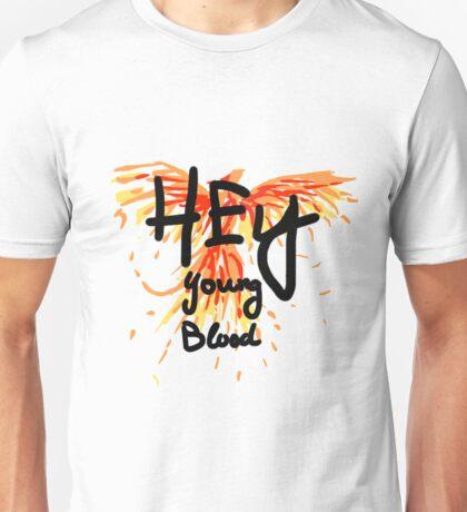 "Phoenix- Fall Out Boy ""Hey Young Blood"" Design  Unisex T-Shirt"