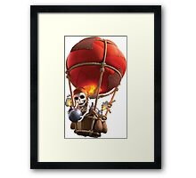 Clash of Clans Balloon Framed Print