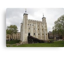 White Tower - Tower of London Canvas Print