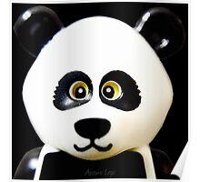 Cute Lego Panda Guy Poster