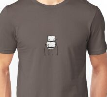 TAB the robot - white BG Unisex T-Shirt