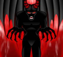 Evil Demon Spirit Sticker