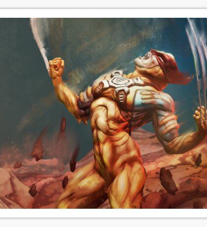 Wolverine's Rage Sticker