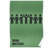 Mind matters - Business Quote Poster