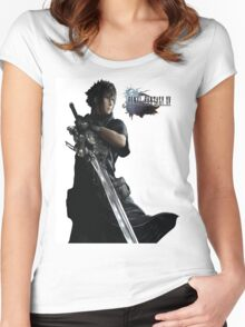 Final Fantasy 15  Women's Fitted Scoop T-Shirt