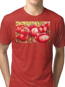 Dancing Tulips Tri-blend T-Shirt