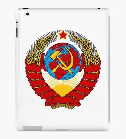Soviet Union Emblem iPad Case/Skin