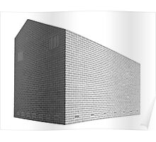 Structure in bricks Poster