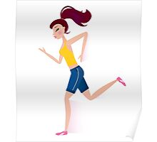 You are running Motivation! Poster